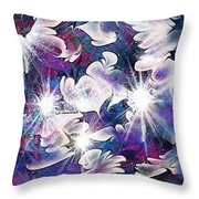 Stardust Throw Pillow by Rachel Christine Nowicki