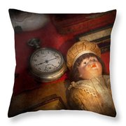 Steampunk - 9-14  Throw Pillow by Mike Savad