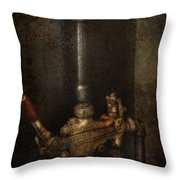 Steampunk - Plumbing - Number 4 - Universal  Throw Pillow by Mike Savad