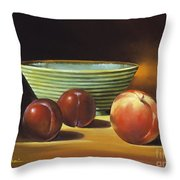 Still Life II Throw Pillow by Han Choi - Printscapes