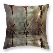 Still Throw Pillow by Jacky Gerritsen