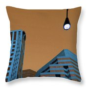 Street View Throw Pillow by Karol Livote