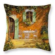 Sul Patio Throw Pillow by Guido Borelli