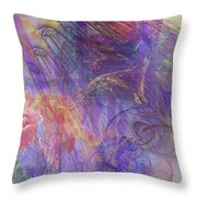Summer Awakes Throw Pillow by John Robert Beck