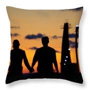 Summer Love Throw Pillow by Linda Mishler