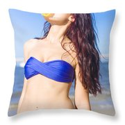 Sun Worshiper Throw Pillow by Jorgo Photography - Wall Art Gallery