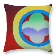 Sunlight Throw Pillow by Charles Stuart