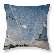 Superior Support Throw Pillow by Todd Krasovetz