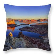 Surreal Alstrom Throw Pillow by Chad Dutson