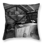 Tavern Throw Pillow by Gaspar Avila