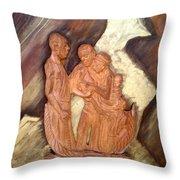 Thanks Throw Pillow by Emmanuel Baliyanga
