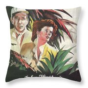 The African Queen Throw Pillow by Georgia Fowler