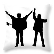 The Beatles No.07 Throw Pillow by Caio Caldas