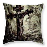 The Beloved Son Throw Pillow by Rachel Christine Nowicki