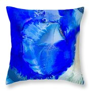 The Blues Throw Pillow by Omaste Witkowski