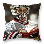 The Bulin Wall Throw Pillow by Don Olea