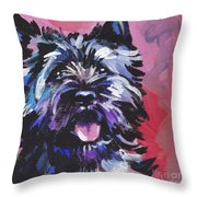The Caring Cairn Throw Pillow by Lea S