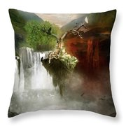 The Choice Throw Pillow by Mary Hood
