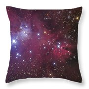 The Cone Nebula Throw Pillow by Roth Ritter