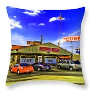 The Cub Throw Pillow by Scott Pellegrin