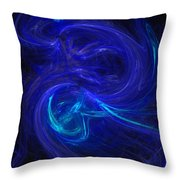 The Dance 2 Throw Pillow by David Lane