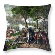 The Death Of Stonewall Jackson Throw Pillow by War Is Hell Store