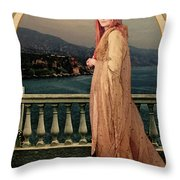 The Empress Throw Pillow by John Edwards