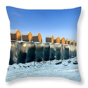 The Farmer As Artist Throw Pillow by Robert Lacy