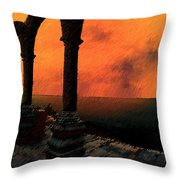 The Gloaming Throw Pillow by Paul Wear