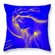 The Glow Of Christ Throw Pillow by Mike McGlothlen