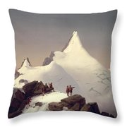 The Great Bellringer Throw Pillow by Marcus Pernhart
