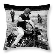 The Great Escape Throw Pillow by Mark Rogan