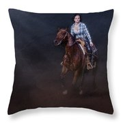 The Great Escape Throw Pillow by Susan Candelario