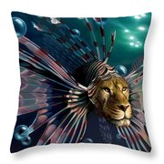 The Guardian Throw Pillow by Patrick Anthony Pierson
