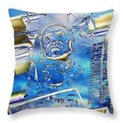 The Guardian Throw Pillow by Tim Allen