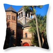 The Holy City Throw Pillow by Susanne Van Hulst