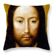 The Holy Face Throw Pillow by Flemish School