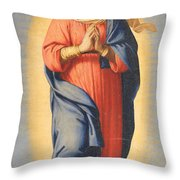 The Immaculate Conception Throw Pillow by Il Sassoferrato
