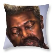 The Joy Of My Salvation 2 Throw Pillow by Reggie Duffie