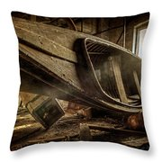 The Last Port Throw Pillow by Everet Regal