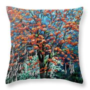 The Mighty Immortelle Throw Pillow by Karin  Dawn Kelshall- Best