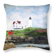 The Nubble Throw Pillow by Darren Fisher