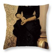 The Parisian Throw Pillow by Charles Giron