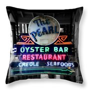 The Pearl Throw Pillow by Perry Webster
