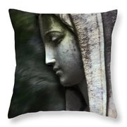 The Prayer Throw Pillow by Kelly Rader
