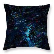 the Reef Throw Pillow by Rachel Christine Nowicki
