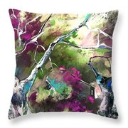 The Return Of The Prodigal Son Throw Pillow by Miki De Goodaboom