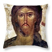 The Savior Throw Pillow by Granger
