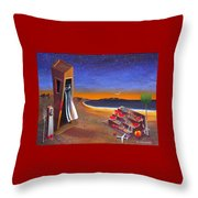 The School Of Metaphysical Thought Throw Pillow by Dimitris Milionis