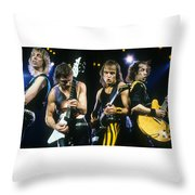 The Scorpions Throw Pillow by Rich Fuscia